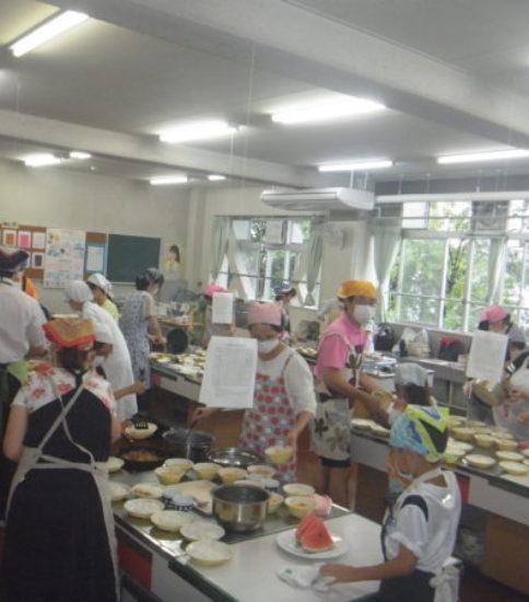 夏休み親子料理教室