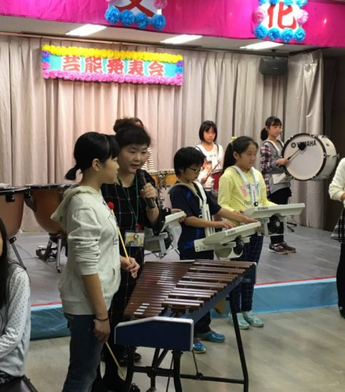 芝富士公民館で演奏会❗️