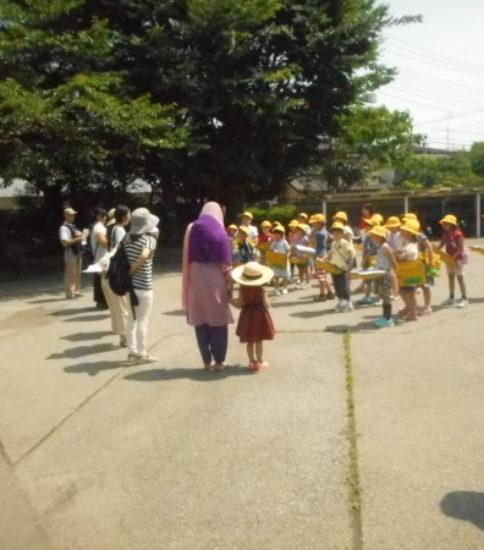6月23日 2年生学区探検