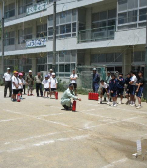 6月4日(日曜日)芝富士町会防災訓練が行われました。