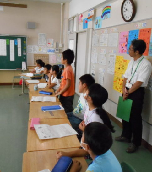 9月27日 初任者研修研究授業