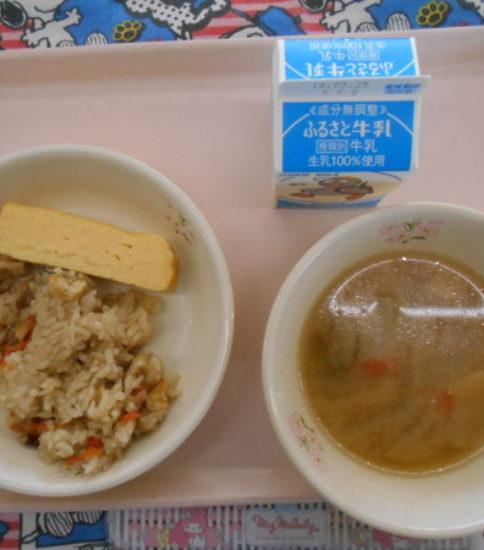 今日の給食【3月14日(水)】
