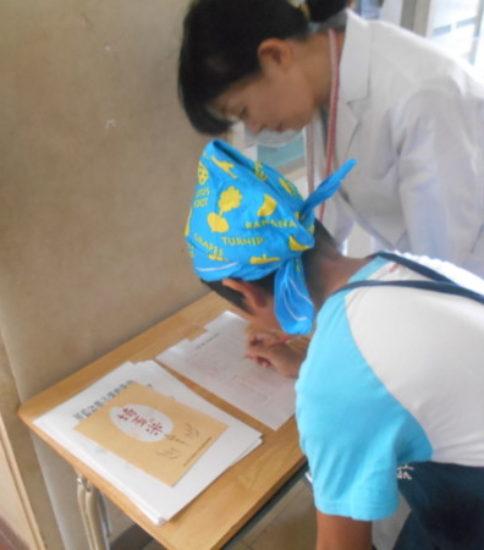 夏休み親子料理教室(1)