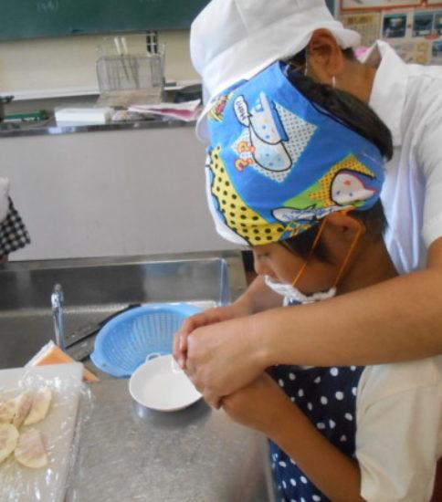 夏休み親子料理教室(3)
