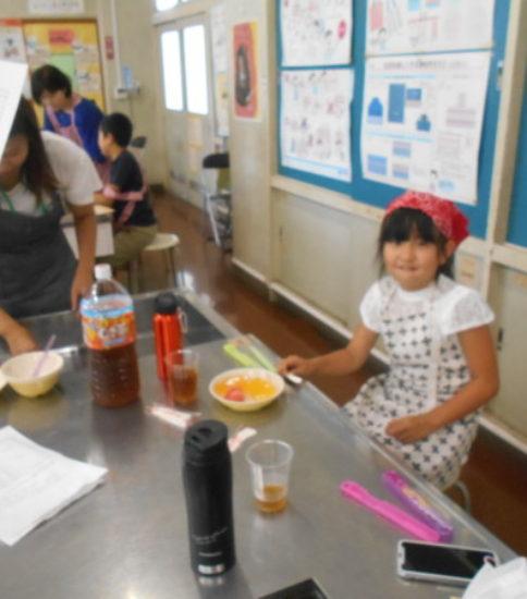 夏休み親子料理教室(5)