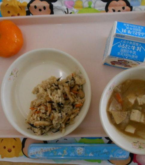 今日の給食【9月6日(木)】