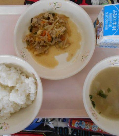 今日の給食【11月7日(水)】