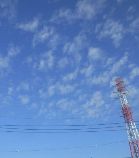 うろこ雲、かな?