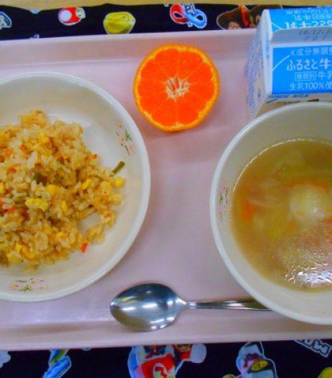 今日の給食【12月5日(水)】