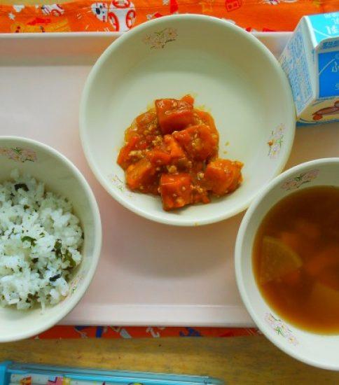 今日の給食【12月17日(月)】