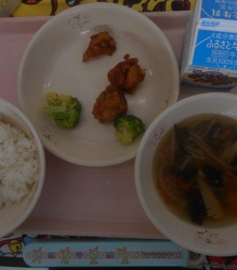 今日の給食【2月20日(水)】
