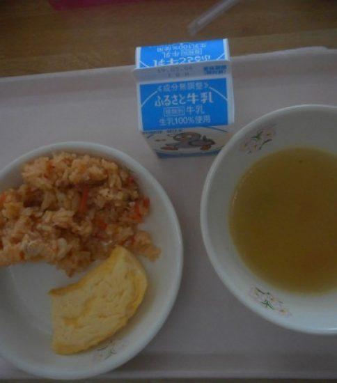 今日の給食【2月25日(月)】