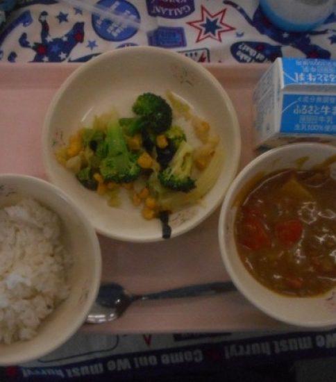 今日の給食【2月27日(水)】