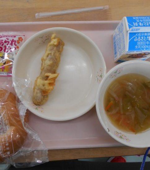今日の給食【3月1日(金)】