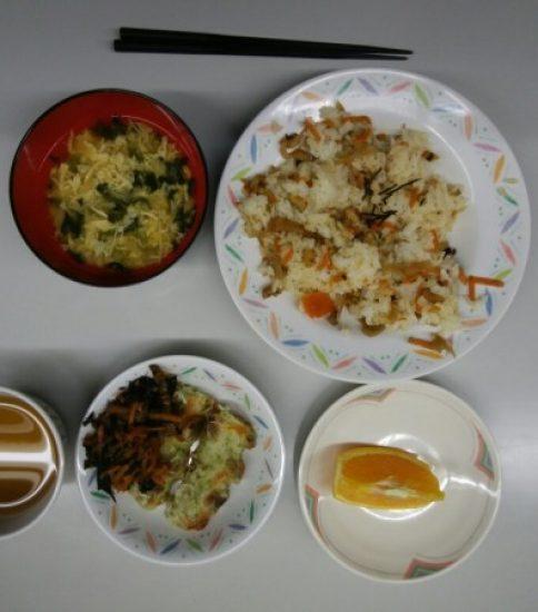 大貫海浜学園⑦ 夕食