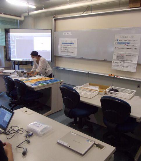 プログラミングの研究授業を行いました